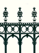 Cast iron railing restoration.
