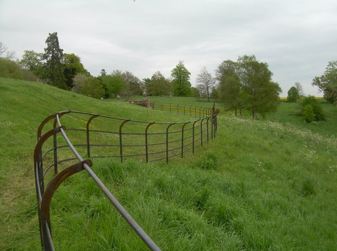 Bespoke Fencing - curved top