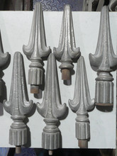 Traditional cast iron finials produced in the UK.
