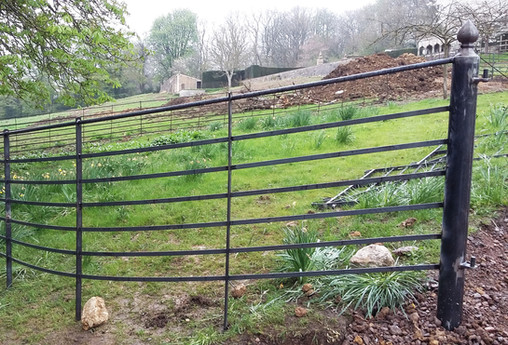 Estate Fencing with 6 Rails