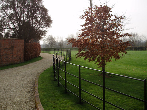 four rail estate fence