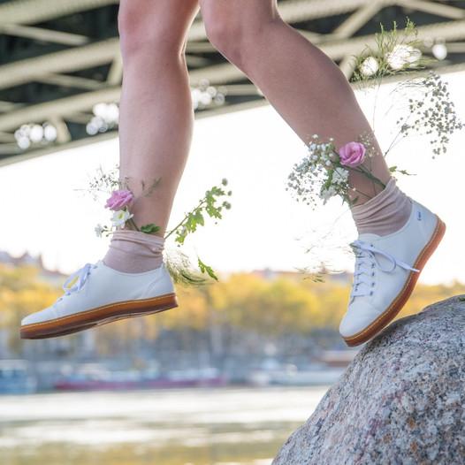 white vegan sneakers