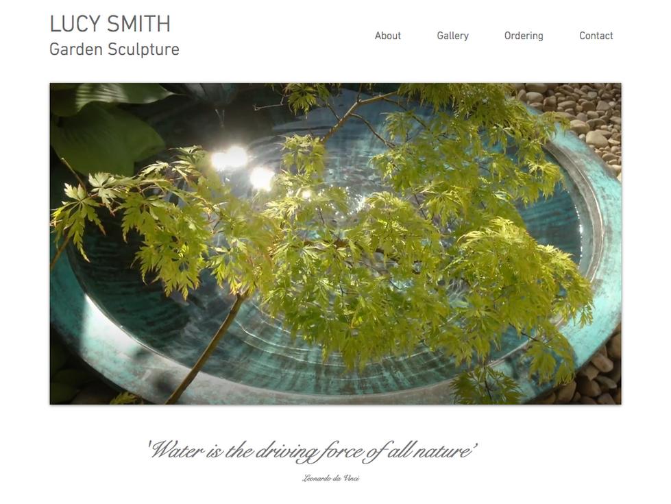 Lucy Smith Ceramic Garden Sculpture