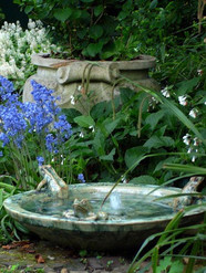 FROG FOUNTAIN BOWL