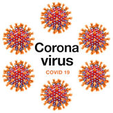 Easy read corana virus symbol