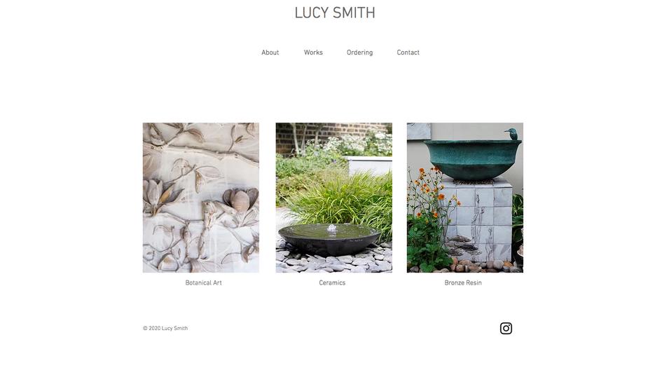 Lucy Smith Ceramic Artist