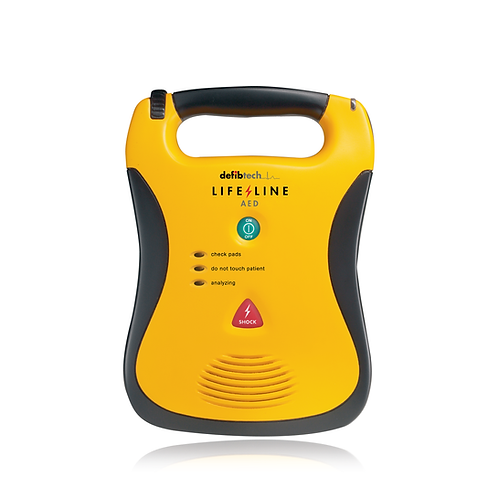 LIFELINE SEMI-AUTOMATIC DEFIBRILLATOR WITH HIGH CAPACITY