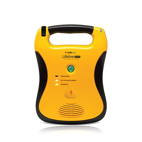 LIFELINE FULLY AUTOMATIC DEFIBRILLATOR WITH HIGH CAPACITY