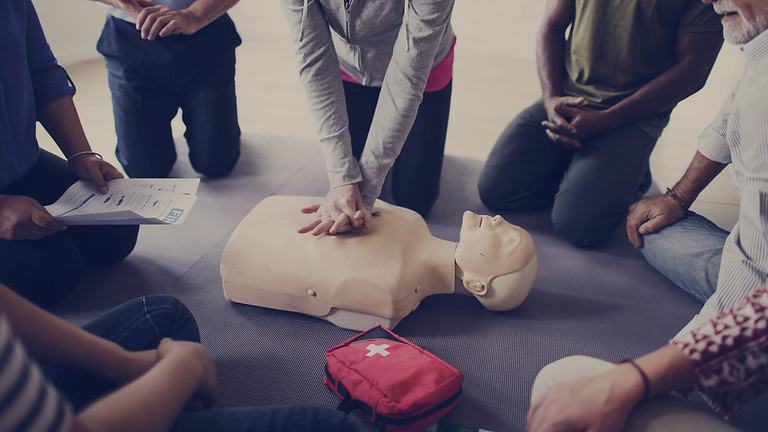 First Aid at Work 13/14/15th September 2021