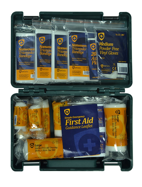 HSE Standard 1-10 Person First Aid Kit Refill