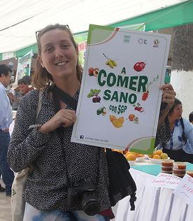 Lara, Mission Pérou - I FEED GOOD