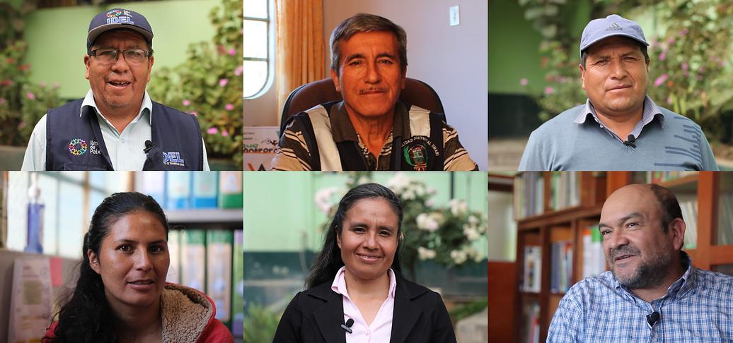 Personnes interviewées, Mission Pérou - I FEED GOOD
