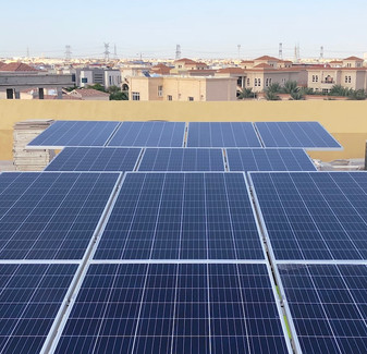 500 Dubai Villas Go Solar - 2,250 kW Project