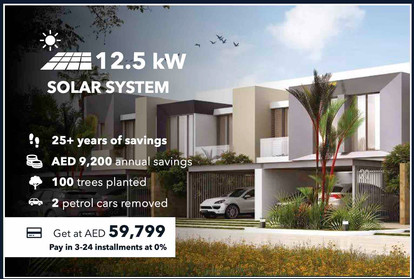 12.5kW On-grid Solar System (Turnkey Solution by Sharaf DG with no extra project expenses on the Client)
