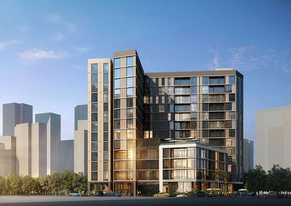 Entire Interior & Facade Lighting for Al Thowima Residences by Emaar