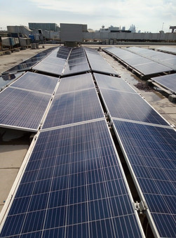 100 kWp Times Square Center Rooftop Solar Project