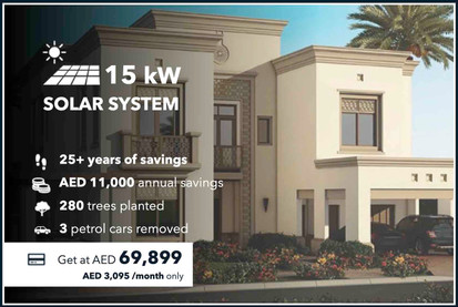 15kW On-grid Solar System (Turnkey Solution by Sharaf DG with no extra project expenses on the Client)