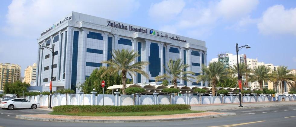 Intetior and Exterior Lighting for Zulekha Hospital