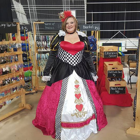 The Queen Of Hearts!