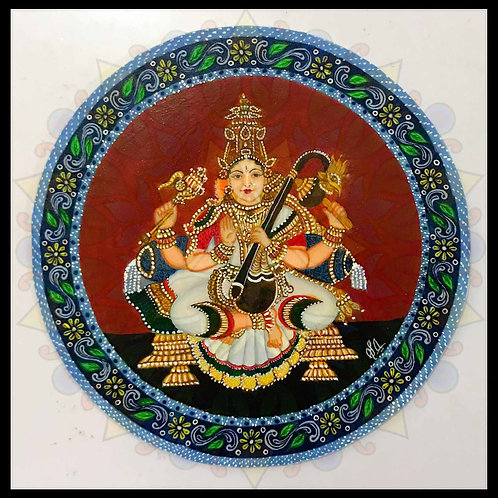Ganjifa Saraswati