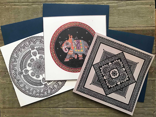 5 x 5 Greeting cards Combo