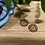 Thumbnail: Copper Round Earrings