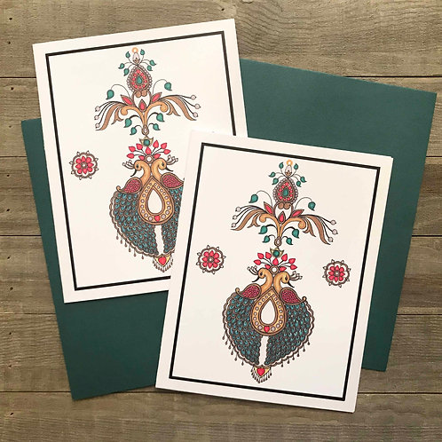 Jewelry Inspired Greeting Card