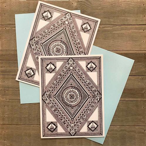 Alankara Greeting Card
