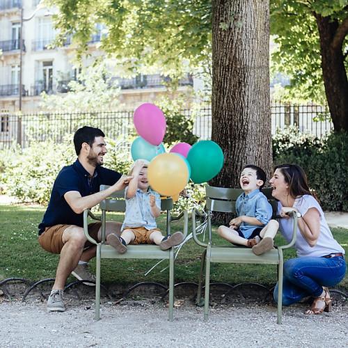 Nathalie et sa famille