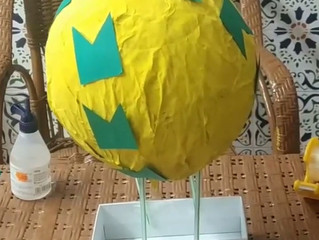Fabricamos un globo aerostático