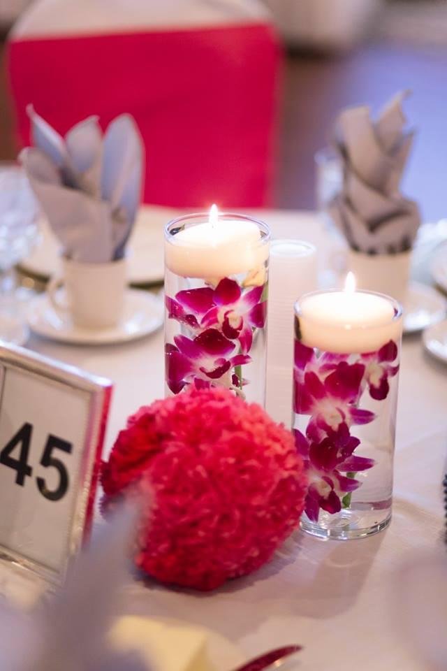 Floating Candles & Floral Pomanders