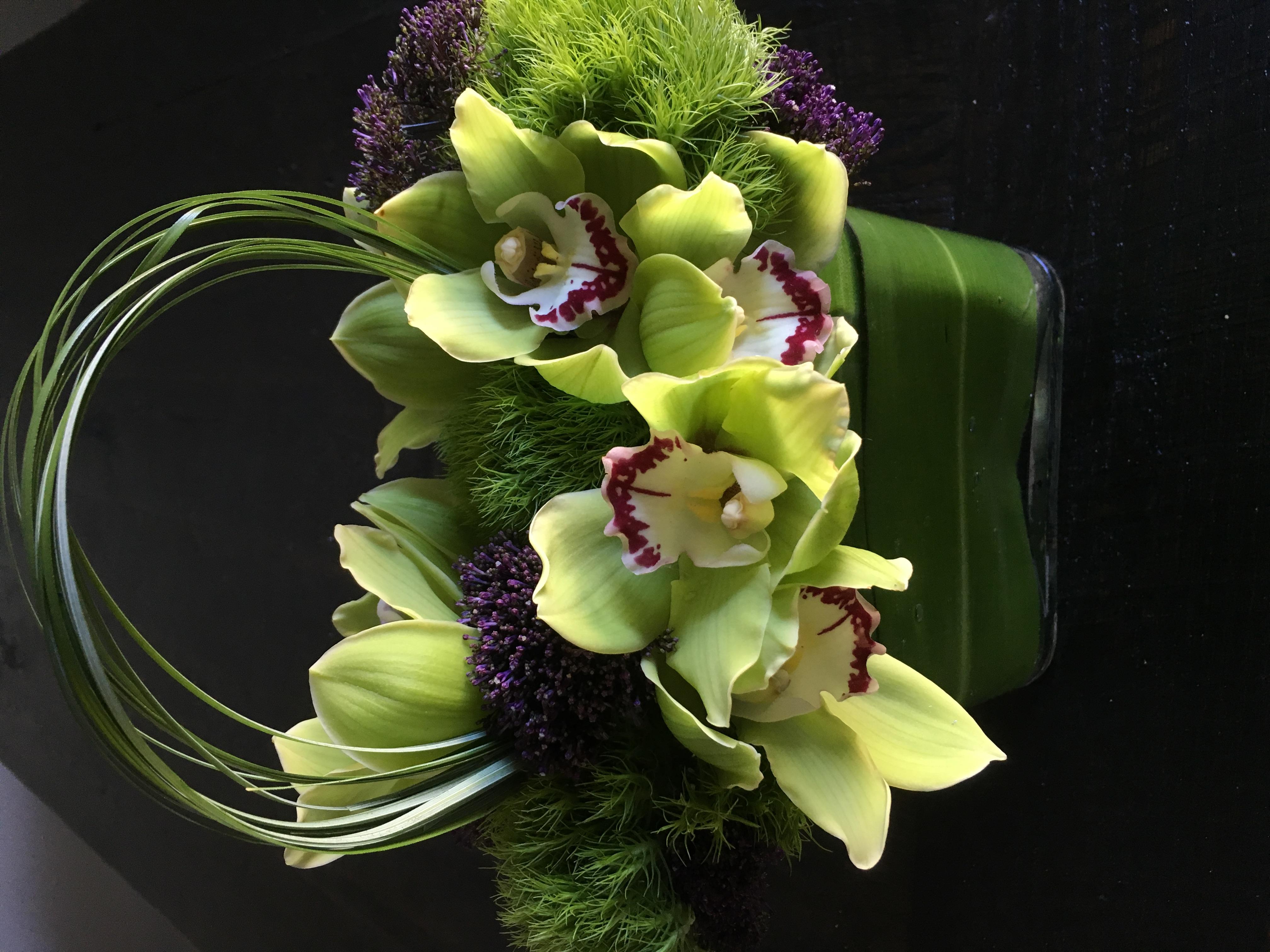 Cymbidium Orchids & Tropical Florals