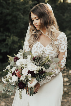 Textured Bridal Bouquet