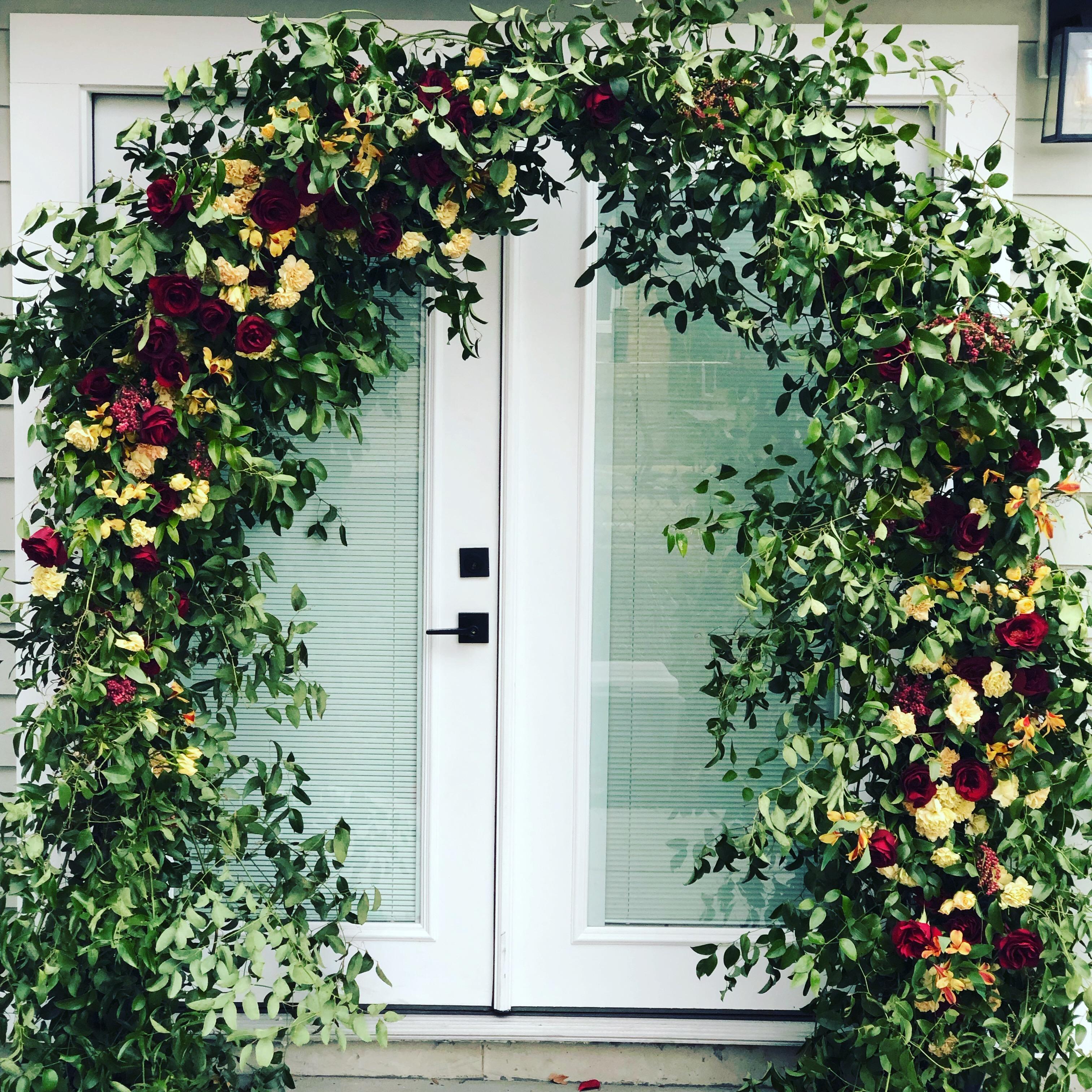 Organic Styled Arch