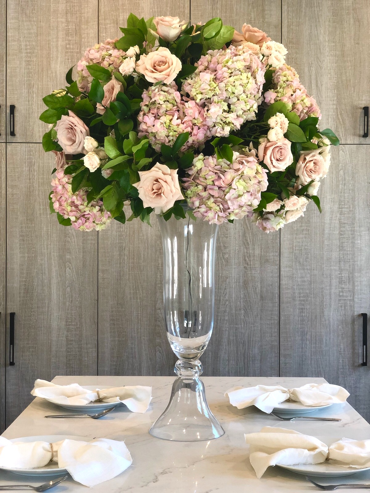 Lush Tall Florals in Vase