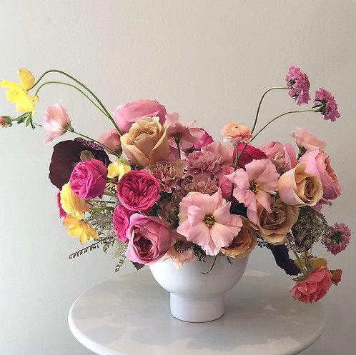 3-Hr In Home Floral Workshop-Compote Arrangement