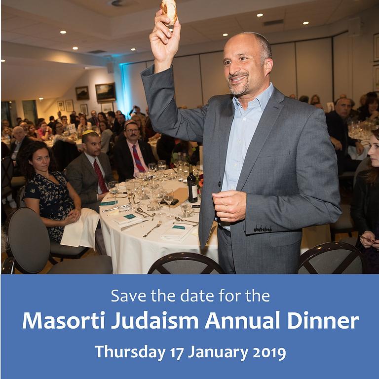 The Masorti Judaism Annual Dinner 2019