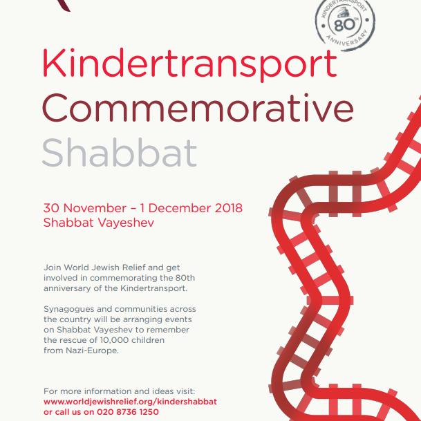 Kindertransport Commemorative Shabbat in honour of Kurt Treitel