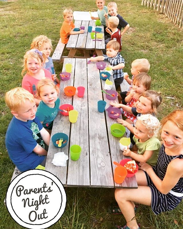 Another fun Parents' Night Out! _#parentsnightout #kidsnightin #alfrescodining #fun