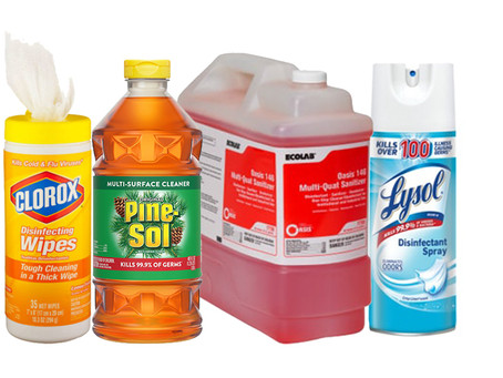 The Concern About QUATS: A Toxic Yet Common Ingredient In Your Cleaning Products.