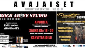 Raato Showroom -Avajaiset Ma 27.5.2019