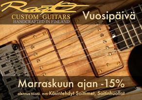 Raato Custom Guitars Vuosipäivä