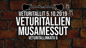 Veturitallien Musamessut 5.10.2019, Jyväskylä