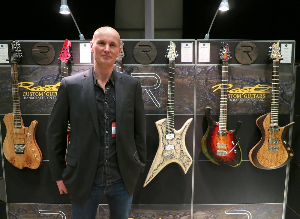Raato Custom Guitars Tonefest 2019 Stand (Photo Copyright: Kitarablogi.com/Martin Berka)