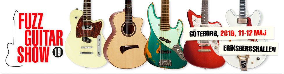 Raato Custom Guitars at Fuzz Guitar Show