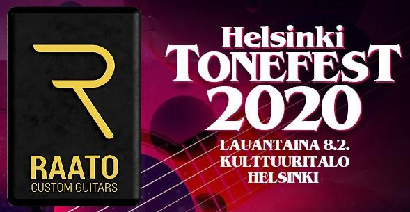 Raato Custom Guitars Helsinki Tonefest 2020