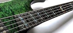 Raato Custom Guitars - CNC jyrsintäpalvelu -multiskaala fanned fret otelauta kitaraan tai bassoon