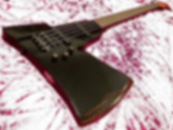 fiskars axe shaped bass guitar custom bass custom design