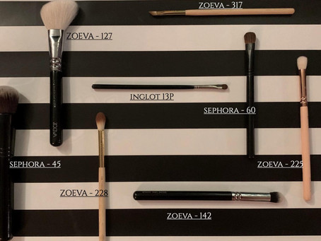 My first conscious buy of makeup brushes