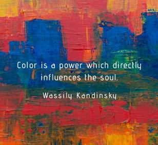 Searching for an inspiration - impact of colour